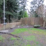 Image before yard was landscaped